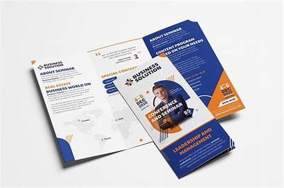 Brochure Tri Fold Template Event Corporate Templates