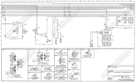 1976 Ford F700 Truck Wiring Diagram by 1973 1979 Ford Truck Wiring Diagrams Schematics