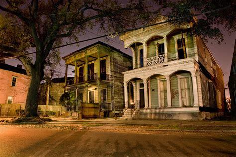 architecture de la nouvelle orleans la nuit chambre