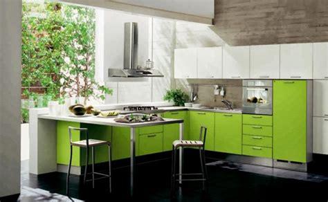 cuisine verte anis quand notre cuisine design se met au vert