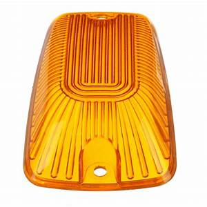 5pc Amber Roof Cab Marker Lights Amber Led Assembly For