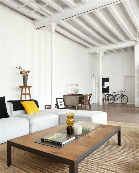 apartment living room contemporary new york style loft by shoot 115 keribrownhomes