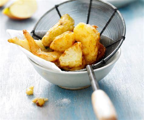 recette facile fruits en tempura