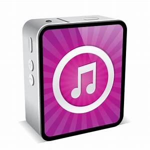 iPhone 4 Black Music Icon - iPhone 4 Mini Icons ...