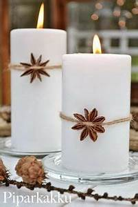 Candle decorations Modern christmas and Christmas candles