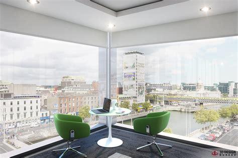 bureau 3d 3d design bureau interior rendering commercial