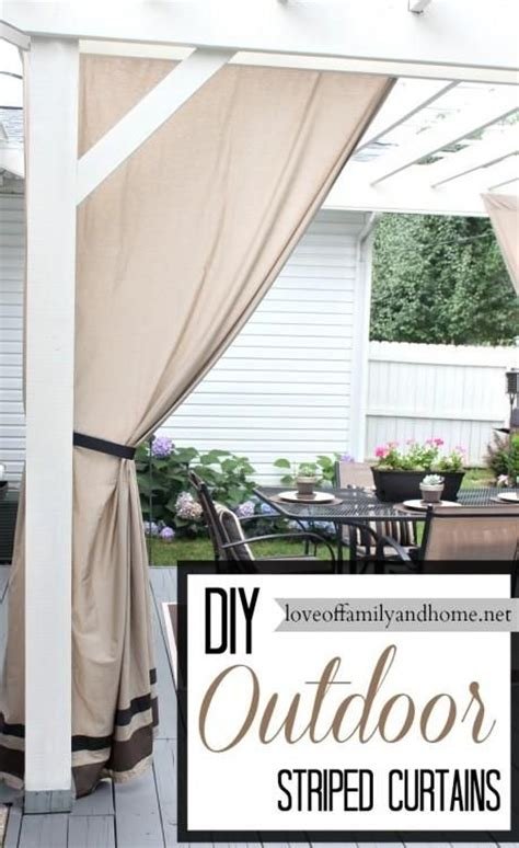18 best images about outdoor curtains on