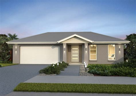 bedroom home design single storey house plan broulee