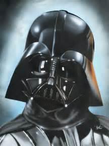 Star Wars Darth Vader Helmet Art
