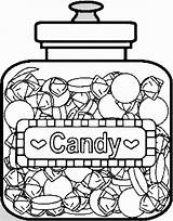 Candy Coloring Pages Printable Sweets Colouring Drawing Bar Chocolate Lollipop Template Donuts Printables Sketch Christmas Children sketch template