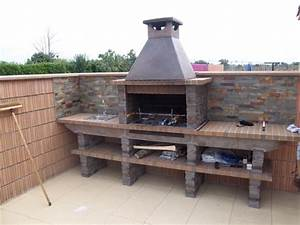 Barbecue De Jardin : barbecue de jardin en pierre ~ Premium-room.com Idées de Décoration