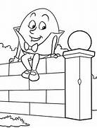 pics photos humpty dumpty coloring page picture