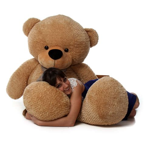 teddy bears shaggy cuddles 72 quot size plush teddy the