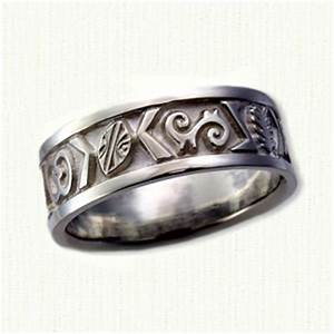 Custom designed african wedding rings and wedding bands by for Nigerian wedding rings