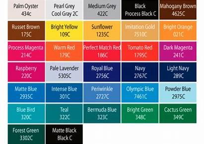 Pantone Chart Shades Colour Navy Tints Panton