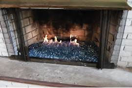 Fireplaces With Glass Rocks Glass Rock Fireplace Inserts Glass Rock Fireplace Inserts Http