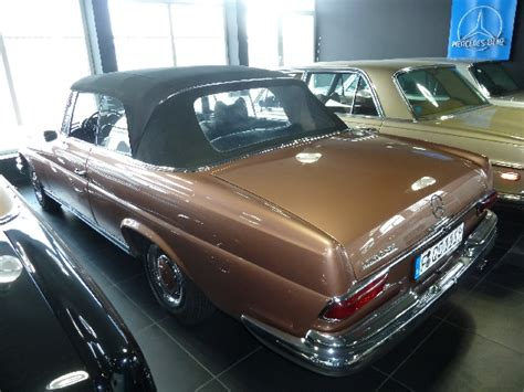 Mercedes W111 In 463 Kupfer Metallic (copper Metallic