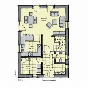 Attraktive Häuser Für Schmale Grundstücke : einfamilienhaus g nstig bauen akazienallee idealer ~ Watch28wear.com Haus und Dekorationen
