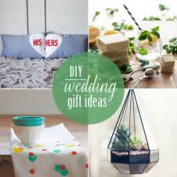 wedding gift idea 10 diy wedding gifts babble