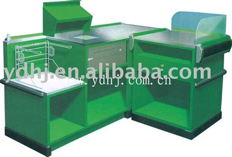 cash register desk for sale cash register checkout counters for sale supermarket