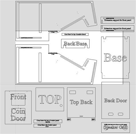 Mortal Kombat Arcade Cabinet Plans by Mortal Kombat 2 Classic Arcade Cabinets