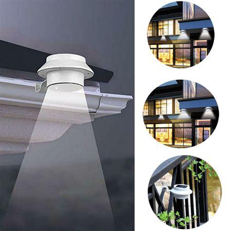 solar powered door light outdoor lighting solar powered modern home exteriors