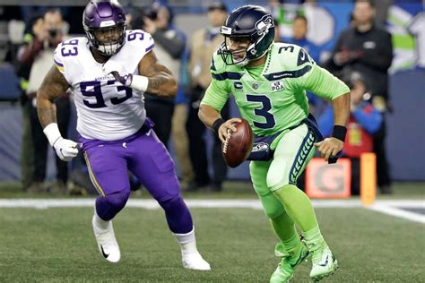 seahawks vikings   la defense de seattle