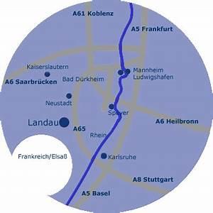 Karlsruhe Frankfurt Entfernung : verkehrsanbindung stadt landau ~ Eleganceandgraceweddings.com Haus und Dekorationen