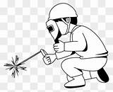 Welder Clipart Welding Coloring Pages Clipartmax sketch template