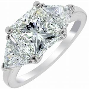 wedding rings triangle diamond engagement ring trilliant With trillion cut wedding rings