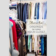 How To Organize Your Closet In 5 Simple Steps! ( Free Pdf