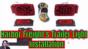 Harbor Freight - Trailer Light Installation