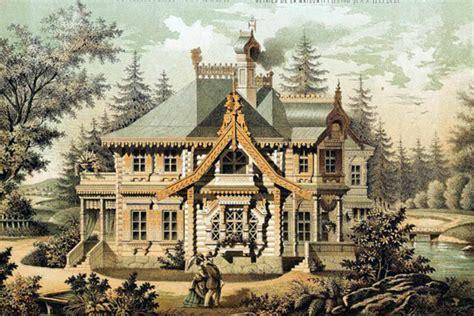 Старинные дома и усадьбы фото