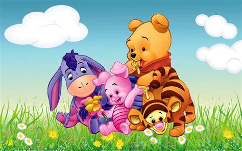 cartoon winnie  pooh tigger piglet  eeyore babies hd