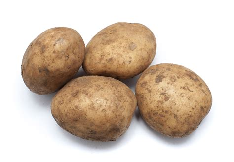 Fresh Uncleaned Potatoes