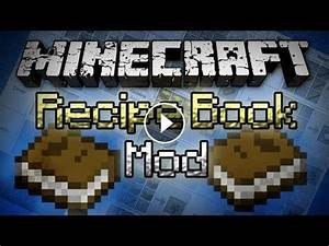 Minecraft: Recipe Book Mod - In-Game Crafting Helper!
