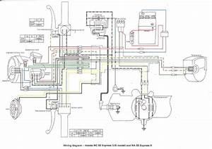 Honda Nc50 Express  Us  Wiring Schematic
