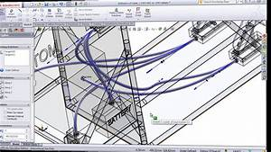 Routing Cables And Wires In Solidworks Electrical 3d