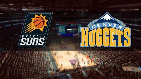 Pronostic Phoenix Suns - Denver Nuggets 08/06/2021 - Paris ...