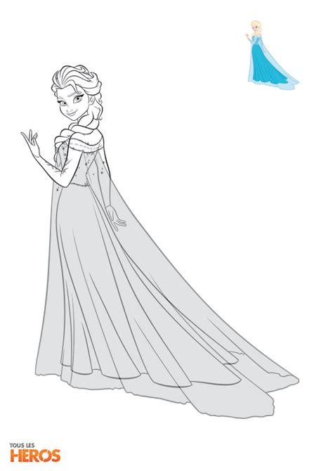 coloriages la reine des neiges  imprimez gratuitement