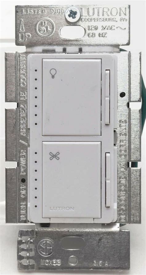 Lutron Maestro Lfq Fan Control Indoor Touch