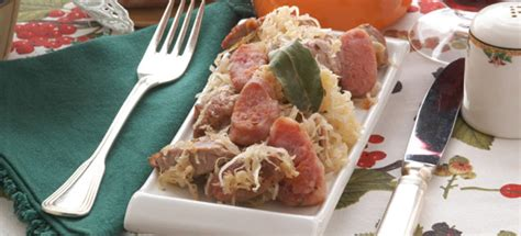 crauti in scatola come si cucinano ricetta crauti e maiale cucinarecarne it