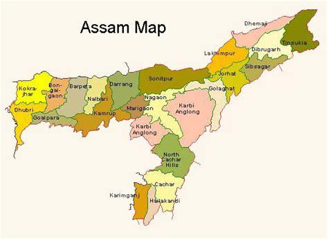 map  assam india images femalecelebrity