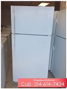 18 Cu  Ft  Top Freezer Refrigerator