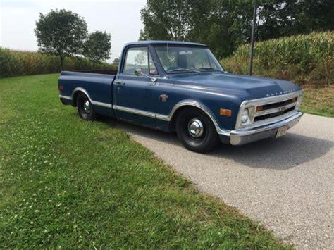 chevrolet  swb pickup procharged ls swap vintage ac