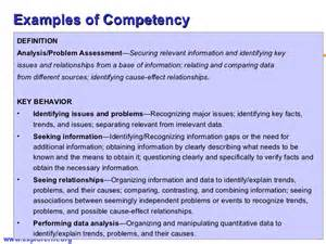 Competency Framework Examples