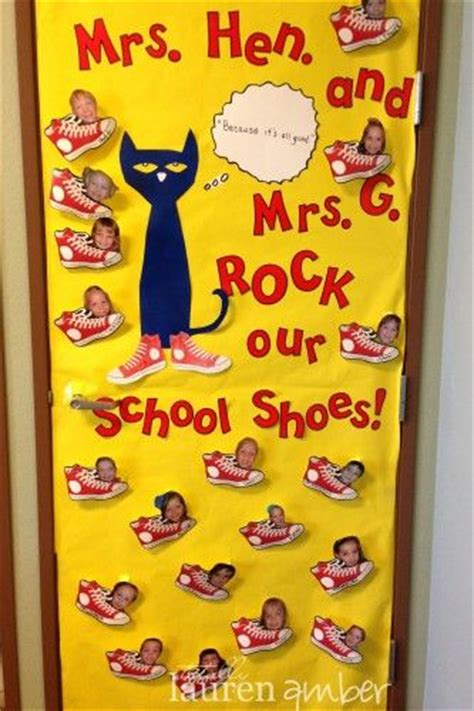 pete the cat classroom decorations pete the cats appreciation and door decorating on