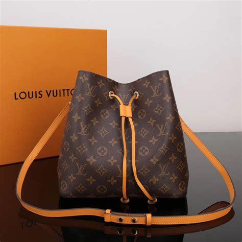 replica lv louis vuitton  monogram neonoe bag handbag orange lv  luxury shop