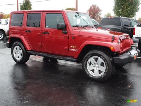 jeep sahara red deep cherry red 2011 jeep wrangler unlimited sahara 4x4
