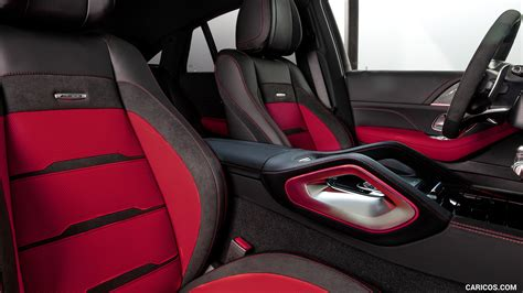 Heated and ventilated power front seats. 2021 Mercedes-AMG GLE 53 Coupe 4MATIC+ - Interior, Front Seats | HD Wallpaper #36